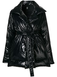 Bacon Belted Padded Coat Black