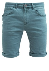 New Look Bull Denim Shorts Mint Green Light Green