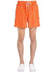 Polo Ralph Lauren Polka Dot Logo Nylon Swim Shorts