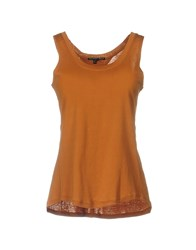 Theyskens' Theory Tank Tops Brown