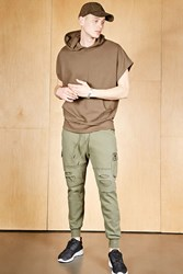 Forever 21 Cayler And Sons Cargo Joggers Olive