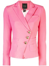 Smythe Classic Fitted Blazer Pink