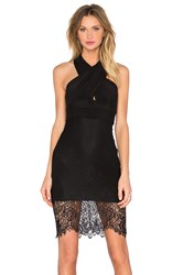 Bardot Lace Allure Dress Black