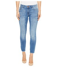 Dl1961 Florence Instasculpt Ankle Crop Jeans In Nugget Nugget Women's Jeans Red