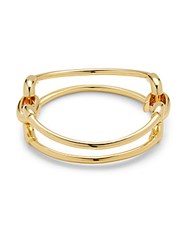 Giles And Brother Loop Cuff Bracelet Gold