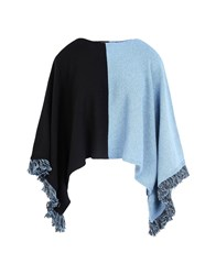George J. Love Coats And Jackets Capes And Ponchos Pastel Blue