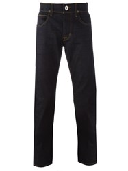 Hudson 'Blake' Regular Fit Jeans Black