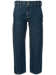Levi's Made And Crafted Cropped Field Jeans Blue