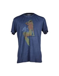 Bomboogie Topwear T Shirts Men Dark Blue