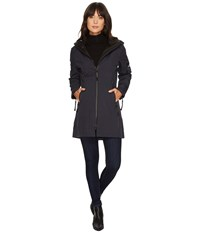 Ilse Jacobsen 3 4 Length Coat Indigo Blue