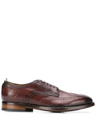 Officine Creative Emory Shoes Red