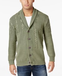 Weatherproof Vintage Men's Big And Tall Cardigan Only At Macy's Camo