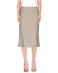 Diana Gallesi Skirts 3 4 Length Skirts Women Beige
