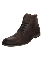 Belmondo Laceup Boots Brown Dark Brown