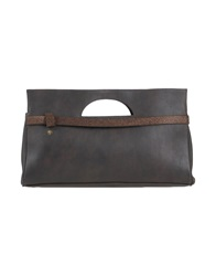 Manila Grace Denim Handbags Steel Grey