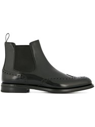 Church's Round Toe Boots Black