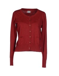 Pepe Jeans Cardigans Brick Red