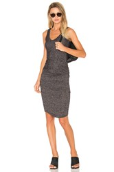 Riller And Fount Gia Dress Charcoal