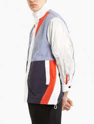 Tim Coppens Contrasting Panelled Judo Shirt Multi