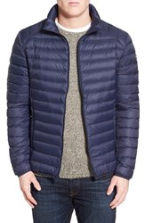 Schott Nyc Men's Quilted Down Jacket