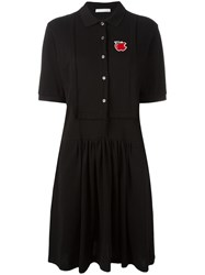 Peter Jensen Polo Shirt Dress Black