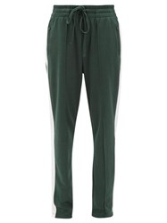 The Upside Electric Ny Drawstring Cotton Blend Track Pants Green