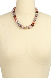 Saachi Multicolor Faceted Bead Crystal Necklace