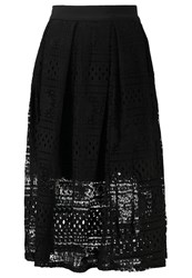 Oh My Love Cecily Aline Skirt Black