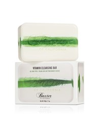 Baxter Of California Vitamin Cleansing Bar Italian Lime 198G White