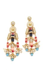 Adia Kibur Jamie Earrings Gold Multi