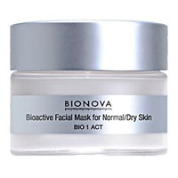Bionova Women's Bioactive Mask For Normal Dry Skin No Color