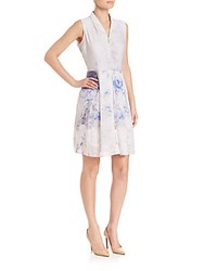 Elie Tahari Emma Dress Wild Bird