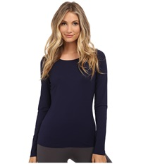 Wolford Pure Pullover Navy Women's Clothing