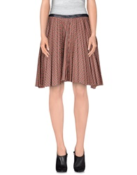 Boy By Band Of Outsiders Knee Length Skirts Red