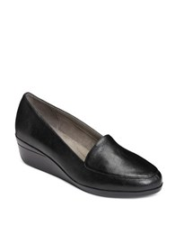 Aerosoles True Match Wedge Heel Loafers Black