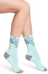 Wigwam Women's Haiku Valley Crew Socks Yucca