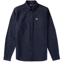 Fred Perry Classic Oxford Shirt Blue