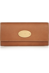 Mulberry Textured Leather Continental Wallet
