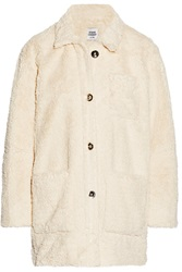 Opening Ceremony Faux Shearling Coat