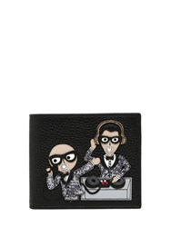 Dolce And Gabbana Dj Designers Leather Classic Wallet