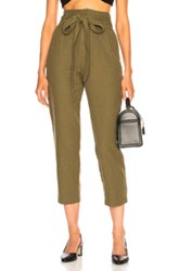 Ag Adriano Goldschmied Darena Pant In Green
