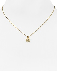 Kate Spade New York Four Leaf Clover Pendant Necklace 16 Gold
