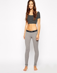 Jack Wills Cable Knit Legging Greymarl
