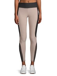 X By Gottex Contrast Shaper Leggings Nude