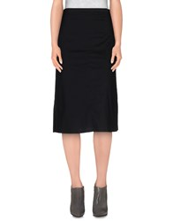 Pianurastudio Skirts 3 4 Length Skirts Women Black