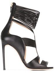 Racine Carree Ankle Strap Sandals Black