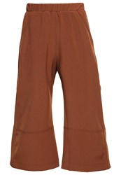 House Of Sunny Trousers Chocolate Dark Brown