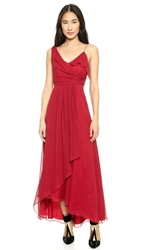Jill Jill Stuart Asymmetrical Maxi Dress Rosetta