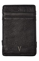 Cathy's Concepts 'Magic' Monogram Leather Wallet Grey V