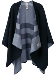 Burberry Checked Reversible Cape Black
